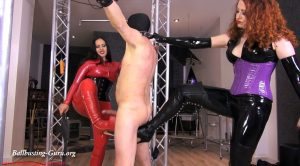 Cruel full-body whipping – Mistress Ezada Sinn & Mistress Lady Renee