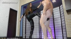 Hard kicks – Mistress Amanda – CRUEL MISTRESSES