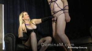Domina Ms Slave Training – Leather Glove CBT