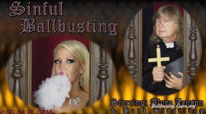 Ballbustin' & Foot Lovin' – Alura Jenson – Sinful Ballbusting