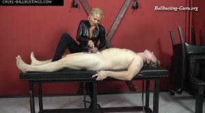 Tortured cock – Mistress Gitta – CRUEL MISTRESSES