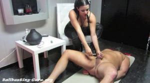 Mistress Michelle Lacy Owns Me – Burning your Locked-Up Balls