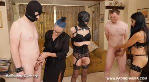 Padrona Era, Mistress Amrita – BALLS TORTURE COMPETITION