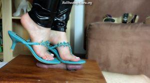 Stomp On Balls To Splash Them – Session 13 – HD Polish Mistress