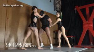 Breakneck Ballbusting Clip 01 – Miss XI, Lady Shayne – Girls Next Door: TEAM BALLBUSTER