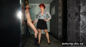 Ballbusting Beauties – Andrea Rosu – Grabbing the Election by the Balls