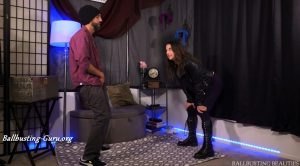 Ballbusting Beauties – Indica's First Time Ballbusting