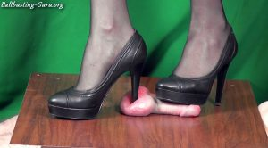 Most sadistic Cock and Ball Trampling in High Heels by Mistress Kim – Aballs and cock crushing sexbomb