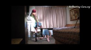 Various Female Domination & Fetish – balbusting and Slap mp4 full version