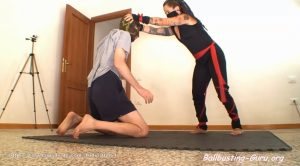 Barefoot ninja girl sexy outfit fight domination – Martial Fetish