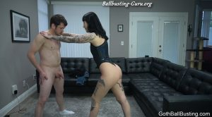 Goth Charlotte – Beg Me To Castrate You