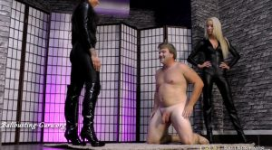FULL HD Kicked by two – Mistress Ariel & Mistress Cleo – CRUEL MISTRESSES