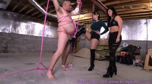 Mariah and Natalya – Just Take it Out on Him (Bound and Beaten in Basement) – Brat Princess 2