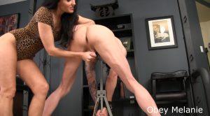Obey Melanie – Spank your cum maker