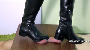 Aballs and cock crushing sexbomb – I will pulp your Manhood under my Boots, feat. Mistress Kim