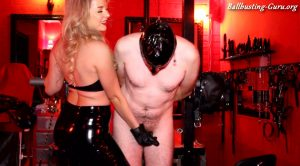 Mistress Lavinia – Slave Gets CBT & Nipple Torment