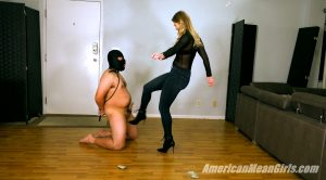 Testing A New Ballbusting Slave Out – Princess Amber – THE MEAN GIRLS