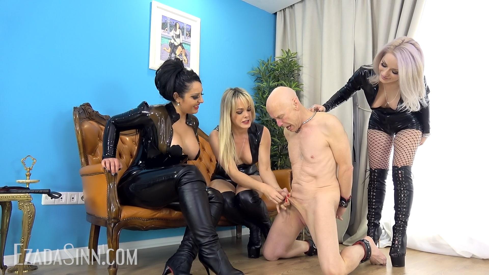 Sinn mistress ezada The interrogation