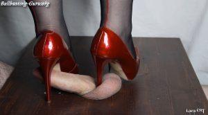 Lara CBT Clip Store – Red Aldo Heels HD