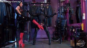The Fetish Slave With Big Balls – Mistress Anita Divina – Kinky Mistresses