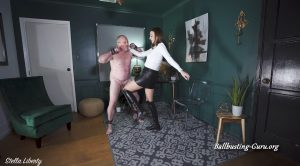 Video Slave Tryout – Stella Liberty