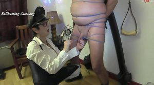 Bdsm session with rubber bands – Bitch Mary