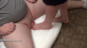 Long Nails of Ms Christina – Fan Barefoot Ball Crush