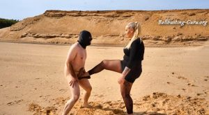 Sandy Ballbusting – Those kicks will take your breath – Dominique Plastique