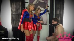 Mistress Taylor Knights Empire – Superwoman Ballbusting Brats!