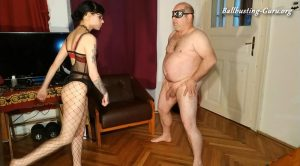 Beth and Joe Kinky Store – Kicking nuts – Beth Kinky