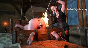 Mistress Lady Renee – Fire tormented balls