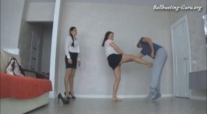 The fantastic Evelina's world – BALLBUSTING FOR SUBMISSIVE PANTYHOSE SLAVE