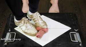 House of Era – Sport sneakers in action CBT Ballbusting