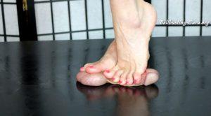 Sweets Treats Trample Femdomme – Bikini Barefoot Cock Crush