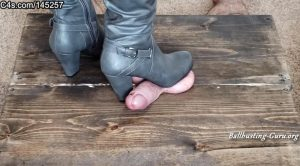 Phantoms Ballbusting Pleasures – Boots are made for stomping high angle