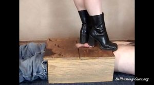 Sweets Treats Trample Femdomme – Brain Damage from a Stomping under my Boots