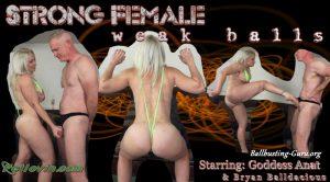 Ballbustin' & Foot Lovin' – Strong Female weak balls – Goddess Anat